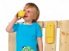 Kunststof telefoon voor speeltoestel