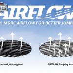 Trampoline BERG Champion 380 Flatground - Airflow trampoline springmat