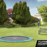 BERG Flatground Champion trampoline Groen 380cm