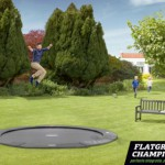 BERG Flatground Champion trampoline Grijs 380cm