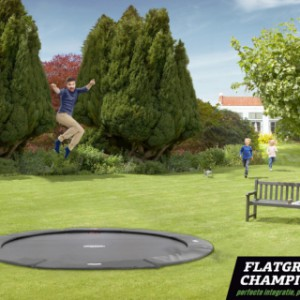 BERG Flatground Champion trampoline Grijs 430cm