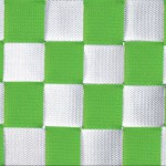 Schommelmat Medium zilver/groen, met wasbare bespanning