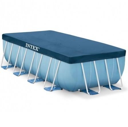 Zwembad afdekzeil 400x200 intex for Intex zwembad verkooppunten