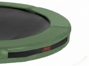 Avyna Pro-Line InGround trampolinerand voor ronde trampoline Groen