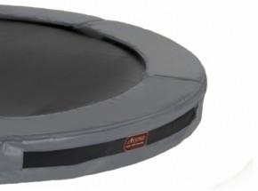 Avyna Pro-Line InGround trampolinerand voor rechthoek trampoline Grijs