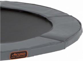 Avyna Pro-Line trampoline rand voor ronde trampoline Grijs