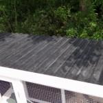 Kippenhok met kunststof dak