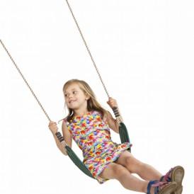 Wraparound flexibel schommelzitje Groen - met PH-touw
