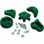 Klimstenen groen voor eigen bouw speeltoren
