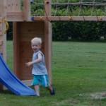 Ook geschikt voor kleine kinderen door meerdere platformhoogtes.