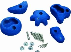 Klimstenen voor speeltoestel blauw medium