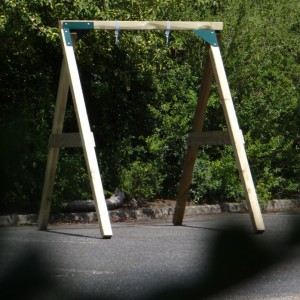 Schommel in eigen tuin? De Enkel Succes Laag 180x240x212cm