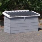 Legnest Julia white-grey met kunststof dak