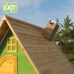 Speelhuisje EXIT Fantasia 300 met glijbaan - schoorsteen