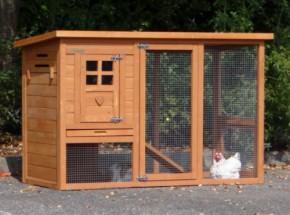 Konijnenhok Budget is een zeer voordelig en mooi konijnenhok met nachthok en ren voor uw konijnen, afm. 136x64x87cm.