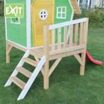 Speelhuisje EXIT Fantasia 300 met glijbaan - veranda