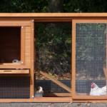 Goedkoop konijnenhok Budget met kunststof dak met grote deur om gemakkelijk schoon te maken