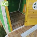 Speelhuisje EXIT Fantasia 300 met glijbaan - bodem