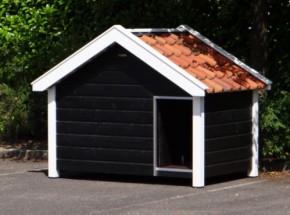 Groot hondenhok van Nederlands fabricaat. Handgemaakt bij ons op locatie: sterk, degelijk en luxe!