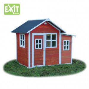 Speelhuis Exit loft 150 red