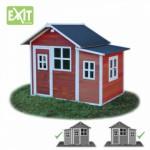 Speelhuis Exit loft 150 rood