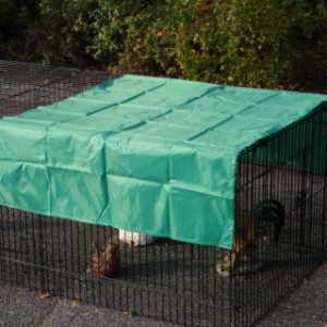 Zonnescherm voor dierenren