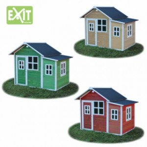 Houten Speelhuis Exit loft 150