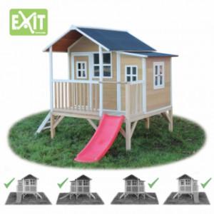 Speelhuis Exit loft 350 naturel