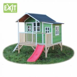 Speelhuisje Exit loft 350 groen