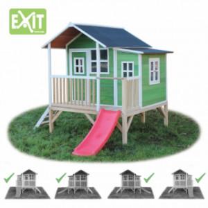 Speelhuis Exit loft 350 groen