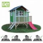 Speelhuis Exit loft 350 green