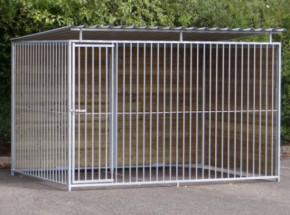 Hondenkennel FERM inclusief dak 3x2m