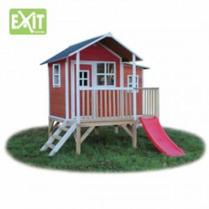 Speelhuisje  EXIT Loft 350 rood