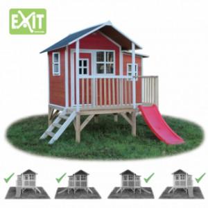 Speelhuis EXIT Loft 350 rood
