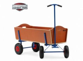 BERG Bolderkar Extra Large is een stevige bolderkar, ook geschikt voor professioneel gebruik