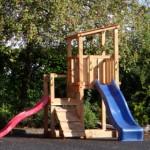 Douglas houten speeltoren Blue Rabbit Cascade