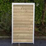Kennelpaneel Met hout 100x184cm