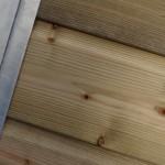 Kennelpaneel Met geïmpregneerd hout voorkant