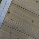 Kennelpaneel Met geïmpregneerd hout achterkant