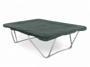 Trampoline beschermhoes rechthoekig PVC Groen 380 x 256cm