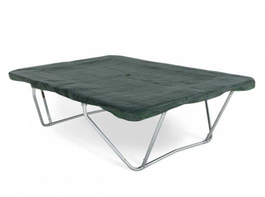 Trampoline bescherm hoes rechthoek PVC Groen 340 x 240cm