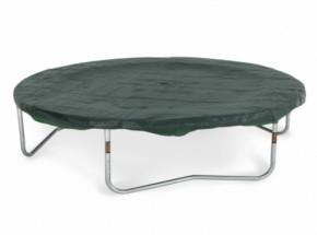Trampoline beschermhoes rond PVC Groen 365cm