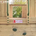 Hy-Land speeltoren met klimwand