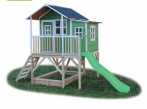 Speelhuisje EXIT Loft 550 groen