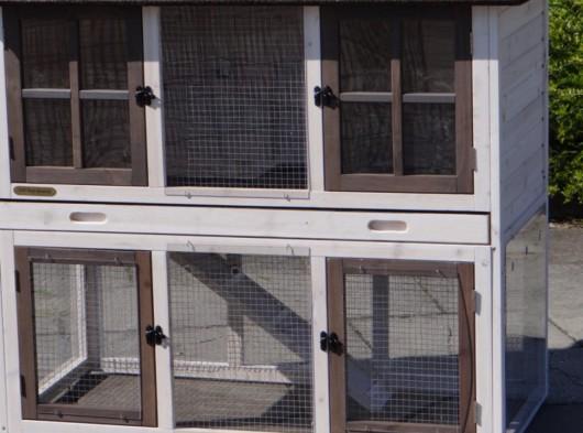 Plexiglas Isolatie Set voor konijnenhok Sweety