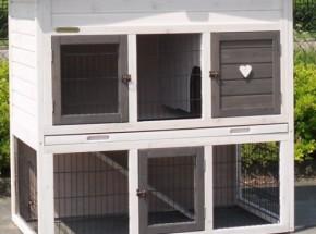 Plexiglas Isolatie Set voor konijnenhok Rosanne met universal rennen