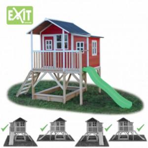 Speelhuis EXIT Loft 550 red