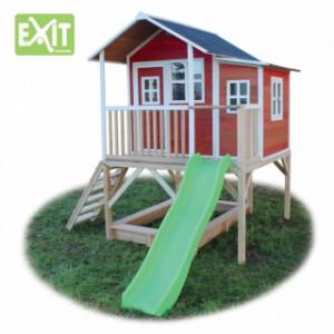 Speelhuis EXIT Loft 550 rood