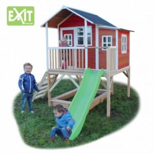 Speelhuisje EXIT Loft 550 rood