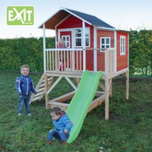 Speelhuisje EXIT Loft 550 red